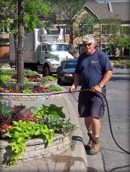 Garden City president John Larsen